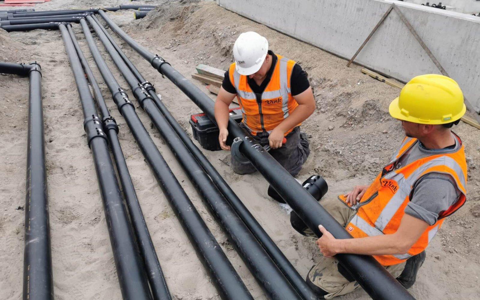 Installatie aanleg leidingsystemen